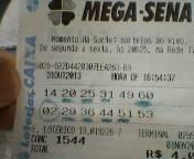 PALPITES - MEGA SENA
