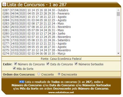 Dia de Sorte - 14 Últimos Concursos - 01.PNG