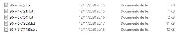 Matrizes com 20 dígitos, acertos de 3,4,5,6,7 pontos.PNG